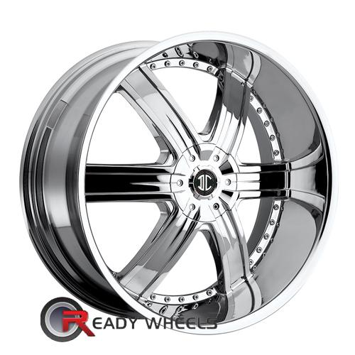 II Crave No04 Chrome 6-Spoke 20 inch | Rims | Tires
