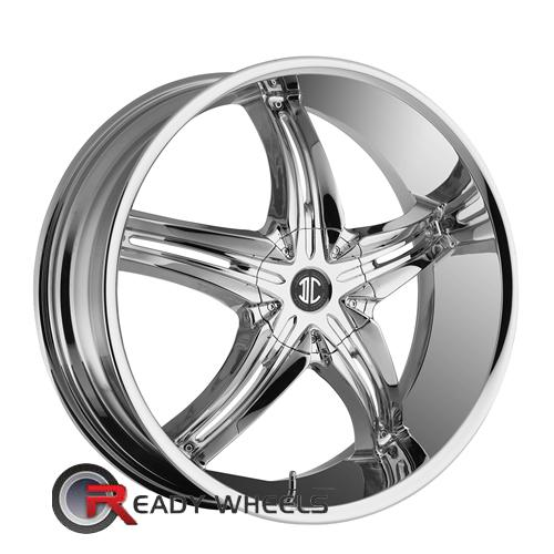 II Crave No05 Chrome 5-Spoke Split 17 inch