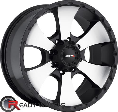 MKW M19 Black Machined Off-Road 17 inch