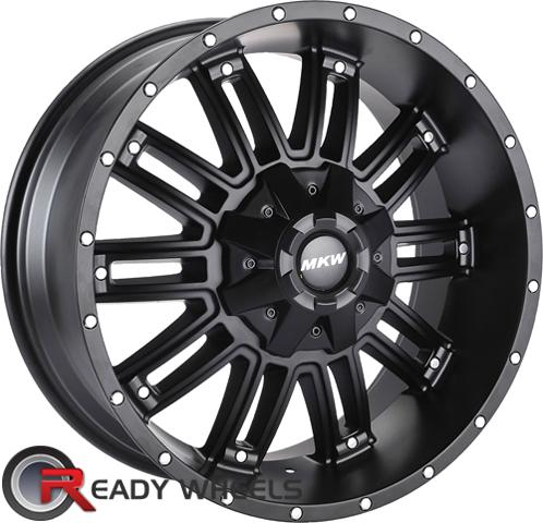 MKW M80 Black Off-Road 17 inch