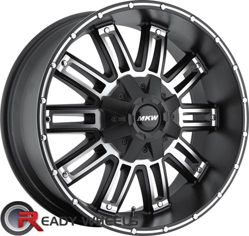 MKW M80 Black Machined Off-Road 17 inch
