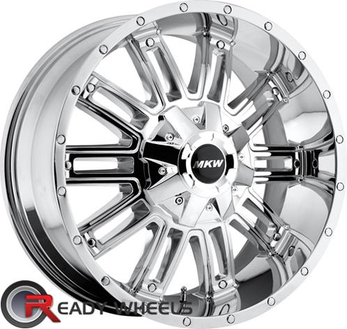 MKW M80 Chrome Off-Road 17 inch + Sunny SN380 205/40/17