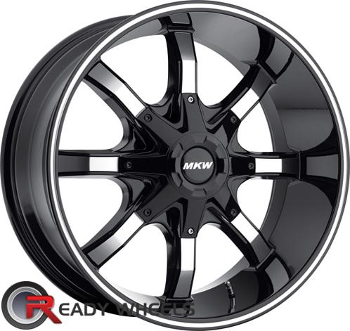 MKW M81 Black Off-Road 16 inch