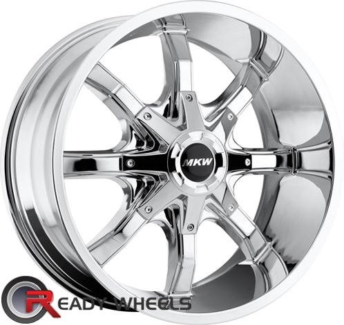 MKW M81 Chrome Off-Road 16 inch