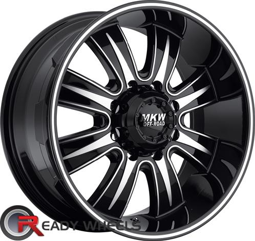MKW M82 Black Off-Road 17 inch