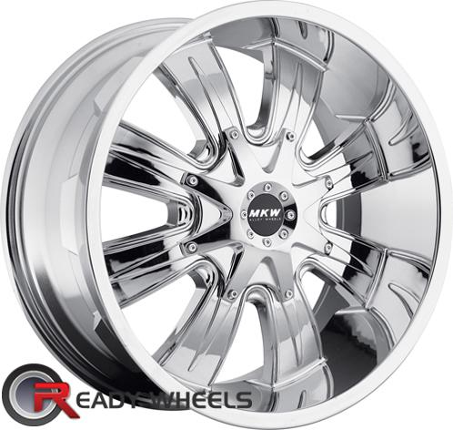 MKW M82 Chrome Off-Road 17 inch