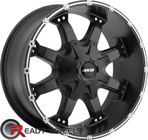 MKW M83 Black Off-Road 16 inch