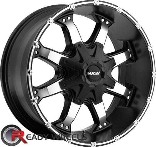 MKW M83 Black Machined Off-Road 16 inch