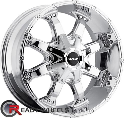 MKW M83 Chrome Off-Road 16 inch