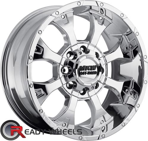 MKW M85 Chrome Off-Road 16 inch