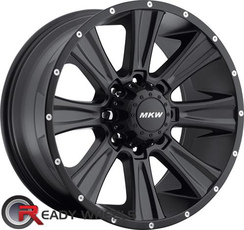 MKW M87 Black Off-Road 17 inch