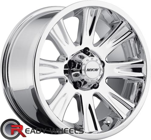 MKW M87 Chrome Off-Road 17 inch
