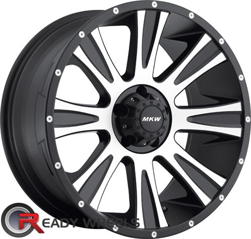 MKW M87 Machined Off-Road 17 inch