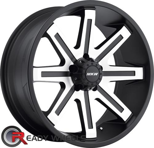 MKW M88 Machined Off-Road 17 inch
