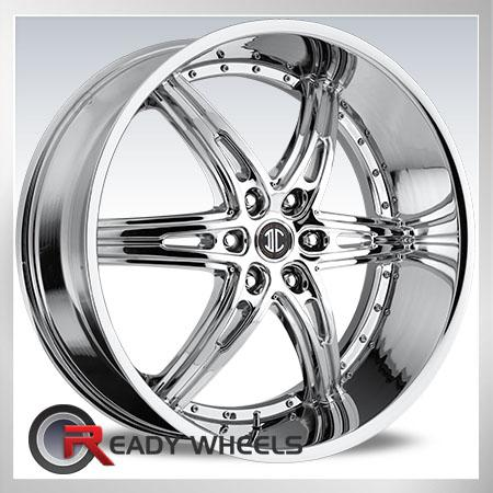 II Crave No16 Chrome 6-Spoke 22 inch