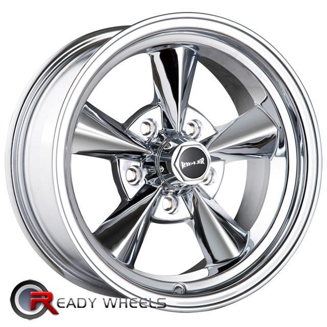 Ridler 675 chrome 5 spoke 17 inch rims tires for 17 inch d window wheels