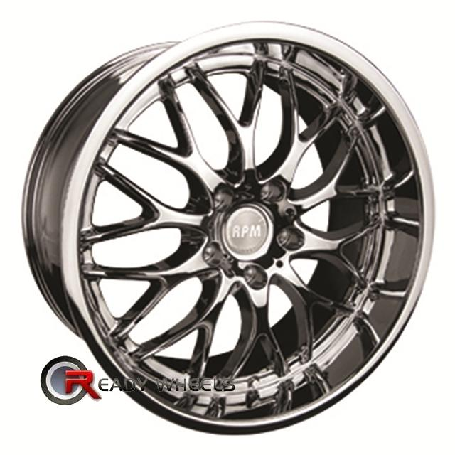 rpm r 505 chrome mesh web 18 inch wheels rims tires. Black Bedroom Furniture Sets. Home Design Ideas