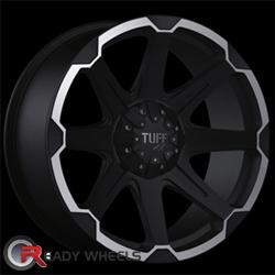 TUFF T05 Flat Black Off-Road 20 inch