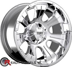 TUFF T06 Chrome Off-Road 17 inch