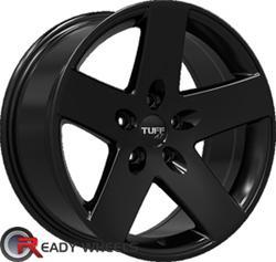 TUFF T20 Satin Black Off-Road 16 inch
