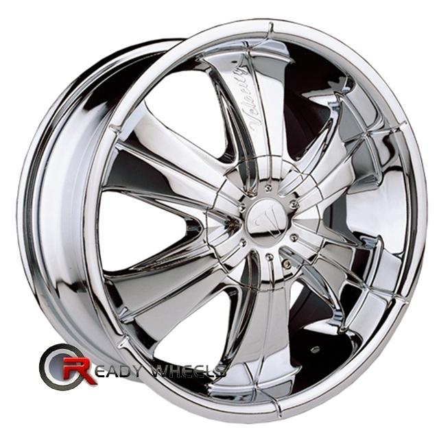 VELOCITY V166 Chrome 6-Spoke 18 inch