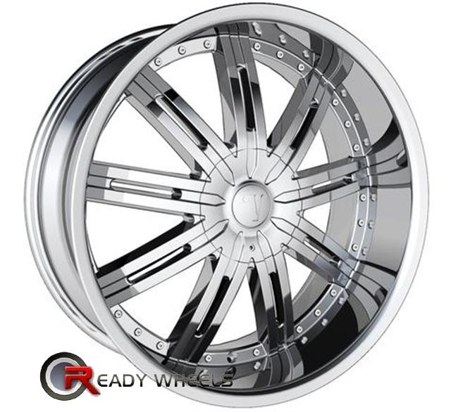 22 Inch 100 Spoke Rims http://www.readywheels.com/velocity-v800-chrome-9-spoke-22-6x139-velocity-chrome-color-rims.html