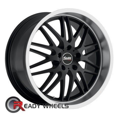 ADVANTI A4 KUDOS Black Flat 18 inch