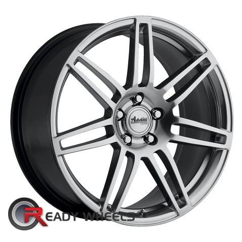 ADVANTI A7 MARICHI  Hyperblack 7-Spoke Split 17 inch