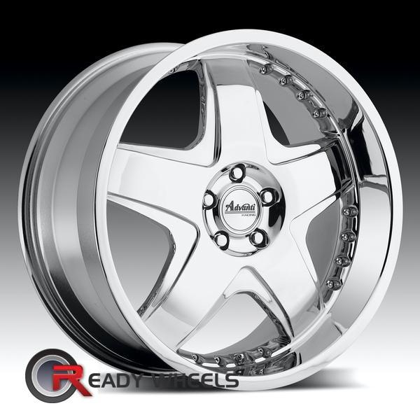 advanti a6 martello chrome 20 inch wheel and tire packages rims tires. Black Bedroom Furniture Sets. Home Design Ideas