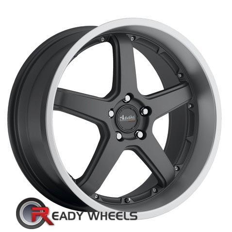 ADVANTI A2 TRAKTION Gunmetal Flat 5-Spoke 18 inch
