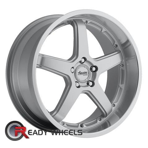 ADVANTI A2 TRAKTION Silver Gloss 5-Spoke 18 inch