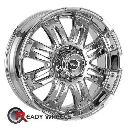 AMERICAN RACING Assault Chrome 8-Spoke 17 inch