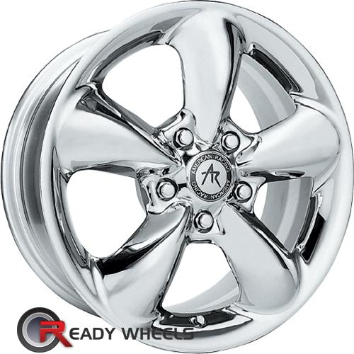 AMERICAN RACING Aero Chrome 5-Spoke 15 inch