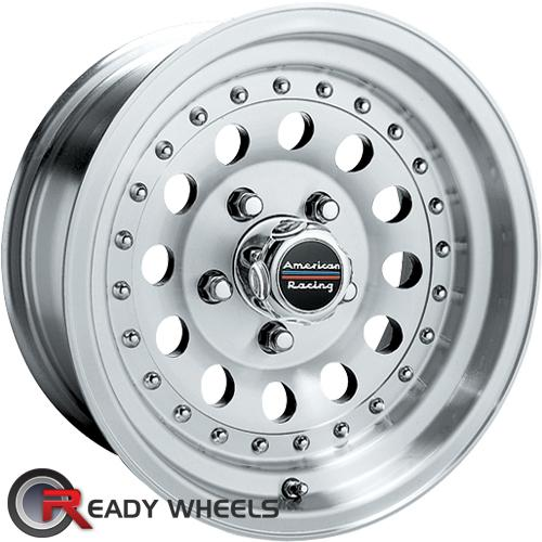 AMERICAN RACING Outlaw Ii Machined w/ Silver Full-Face 14 inch
