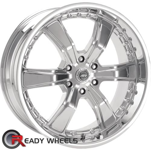 AMERICAN RACING Razor 6 Chrome 6-Spoke 20 inch