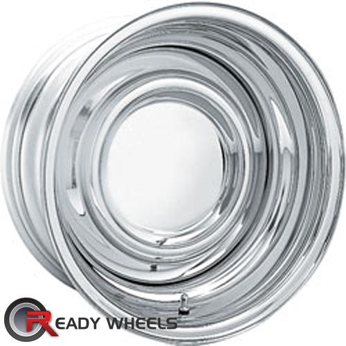 AMERICAN RACING VINTAGE Reverse Smoothie Chrome Full-Face 15 inch