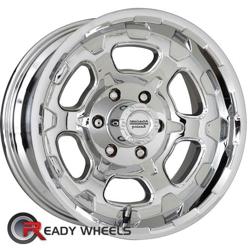 ATX OFF-ROAD Chamber Chrome 6-Spoke 15 inch