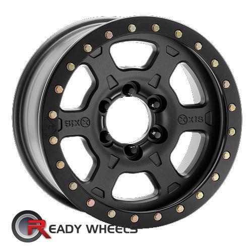 ATX OFF-ROAD Chamber Pro Bl Black Flat 6-Spoke 17 inch