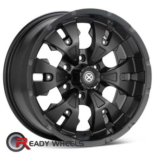 ATX OFF-ROAD Mace Black Flat 6-Spoke 17 inch