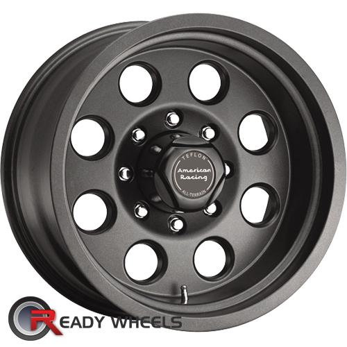 ATX OFF-ROAD Mojave Gunmetal Flat Full-Face 15 inch