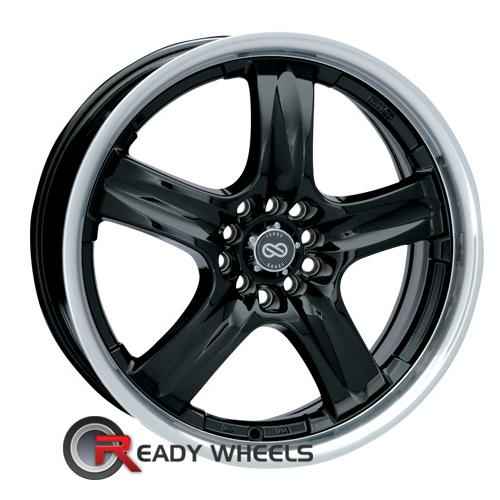 ENKEI Em5 Black Gloss 5-Spoke 17 inch + Sunny SN380 205/40/17