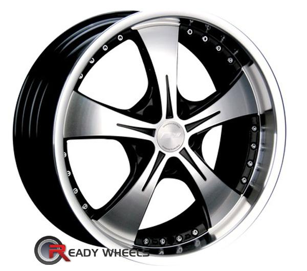 SPEEDY Legend Machined w/ Black 5-Spoke 18 inch