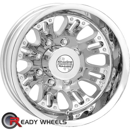 AMERICAN RACING Deuce (Dually) Chrome Full-Face 17 inch