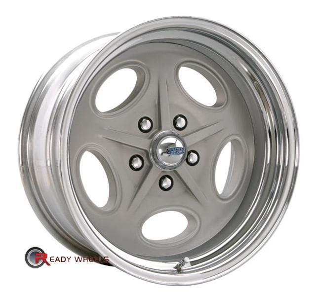 CRAGAR 391G - Bonneville Grey Full-Face 17 inch