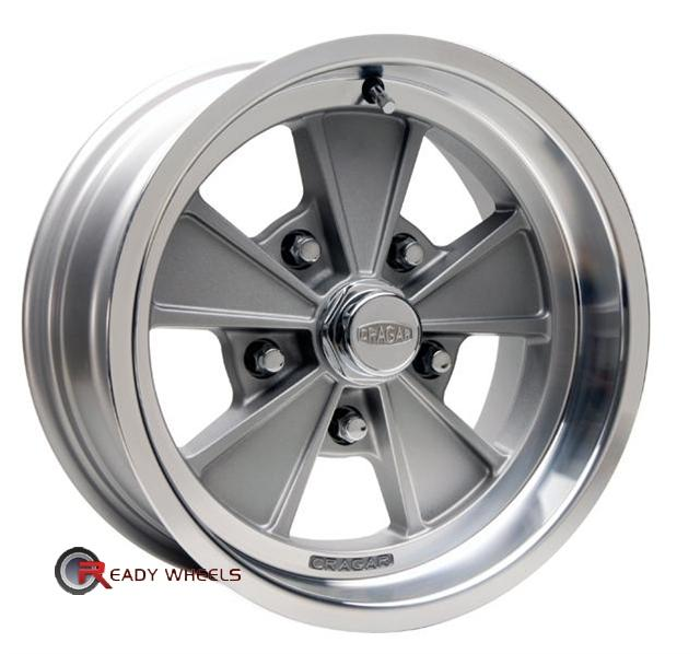 cragar 500g eliminator grey 5 spoke 15 inch rims tires. Black Bedroom Furniture Sets. Home Design Ideas