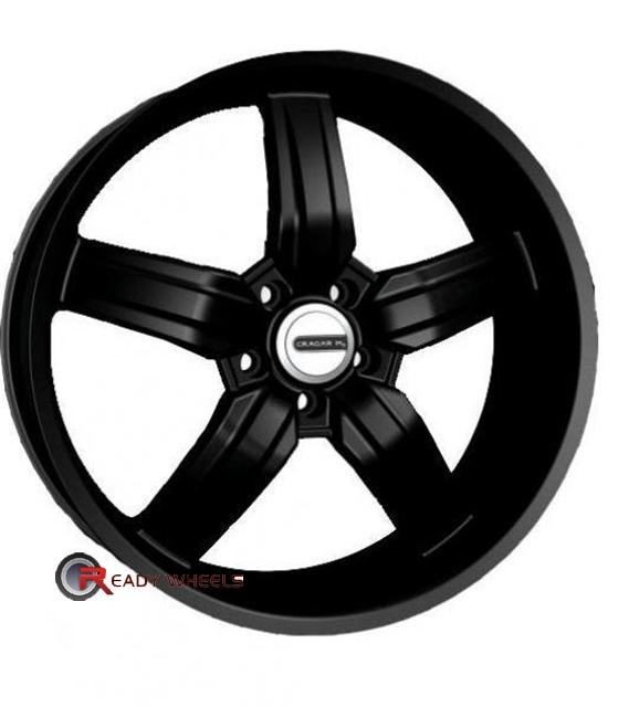 CRAGAR 701B Flat Black 5-Spoke 20 inch