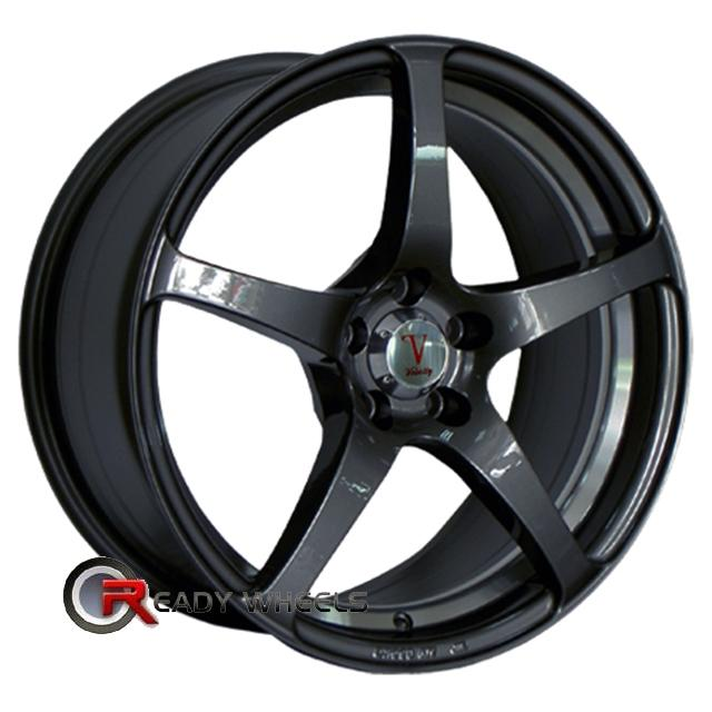 VELOCITY VW225 Black Gloss 5-Spoke 17 inch