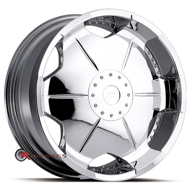 Platinum 216 Shield Fwd Chrome Full Face 22 Inch Wheel And Tire Packages Rims Tires