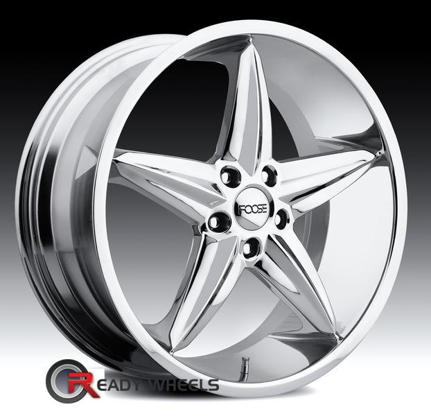 FOOSE F5 Chrome 5-Spoke 20 inch