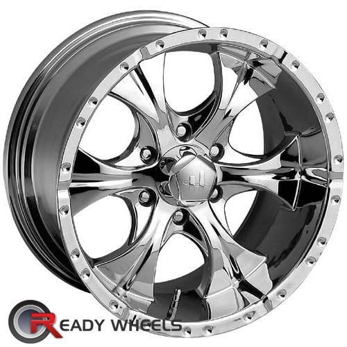 helo he791 chrome 6 spoke 20 inch wheel and tire packages rims tires. Black Bedroom Furniture Sets. Home Design Ideas